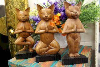 wooden yoga cats wholesale