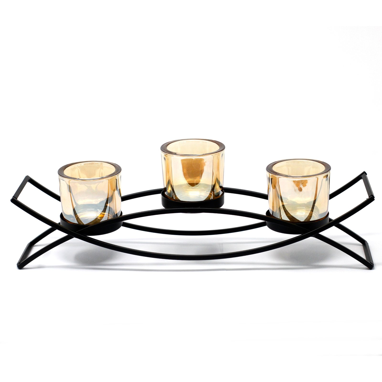 Centrepiece Iron Votive Candle Holder 3 Cup Silluethe Awgifts Giftware Wholesale Awgifts Europe Wholesale Giftware And Aromatherapy Supplier